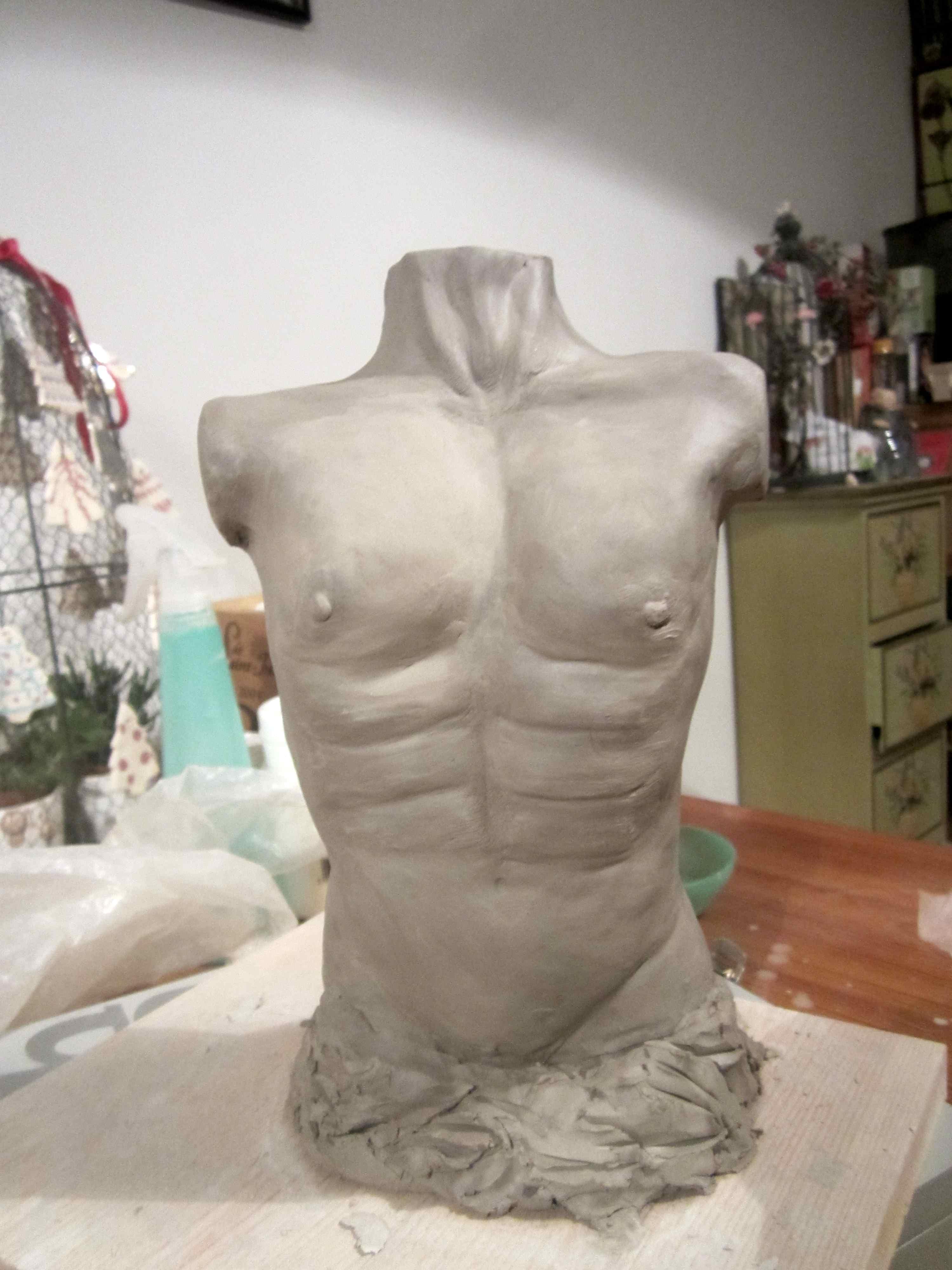 Relativ Sculptures en terre lisse et chamottée | Creative Terre EH85