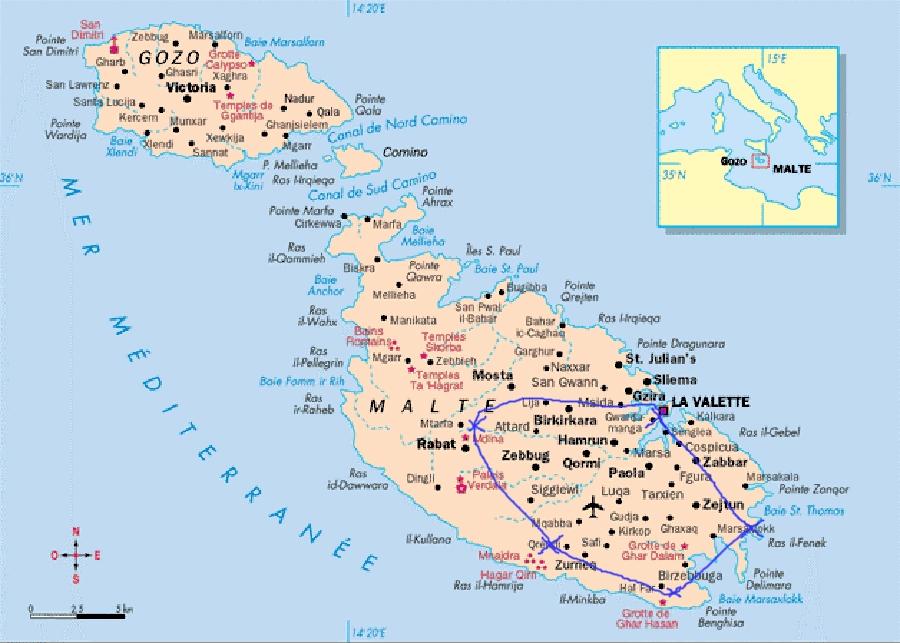 Malte creative terre for Plan de malte
