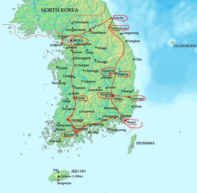 carte-coree-du-sud